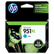 HP 951XL (CN046AN) High Yield Cyan Original Ink Cartridge (1,500 Yield)
